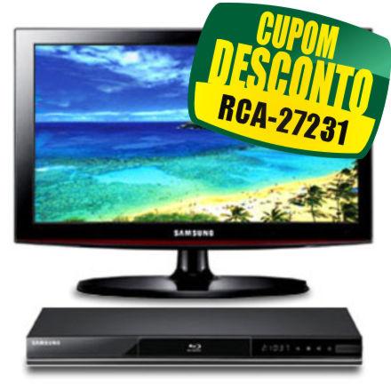 TV 32 + Blu-Ray Samsung