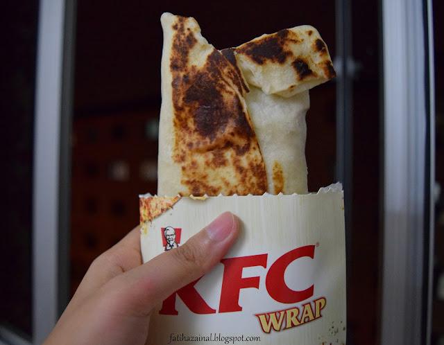 KFC Zinger ayam masak merah