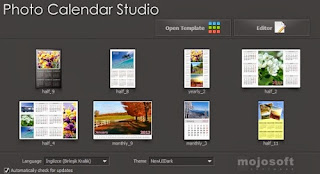 Photo Calendar Studio is a program to design and print calendars with your own photos