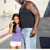 SHAQUILLE O'NEAL PHOTO'D PASSIONATELY MAKING OUT WITH HIS GIRLFRIEND HOOPZ . . . IN PUBLIC!! (YUCK)