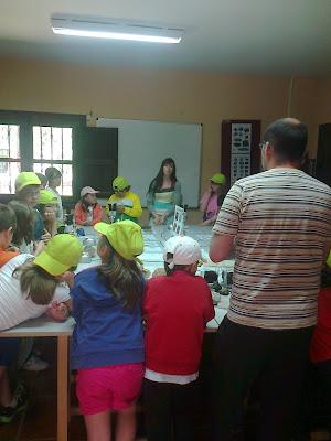 Campamento ONCE en Las Cavenes