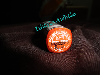 REVIEW: Maybelline COLORsensational Lipstick In Bronze Orange image