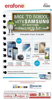 Samsung Promo Back to School
