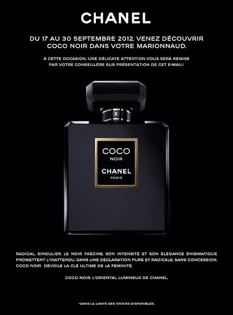 Echantillon gratuit du parfum Coco Noir de Chanel