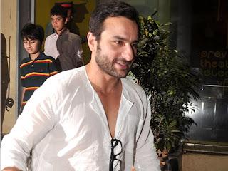 Saif ali khan premiere of Agent vinod