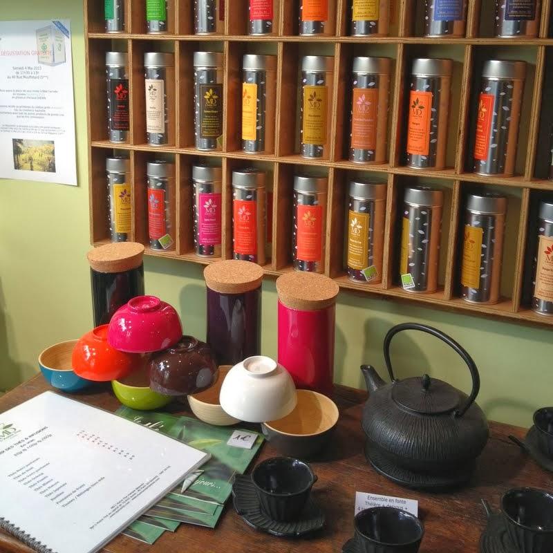 Salon de thé, Autre thé, Thé, Mouffetard, Paris, 75005