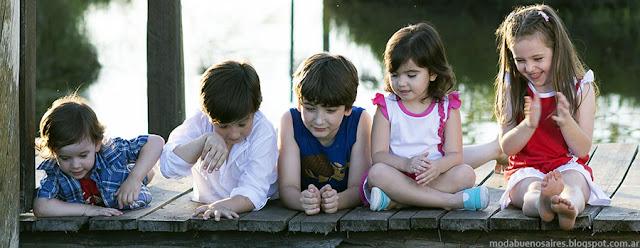 Ropa para niños primavera verano 2016.