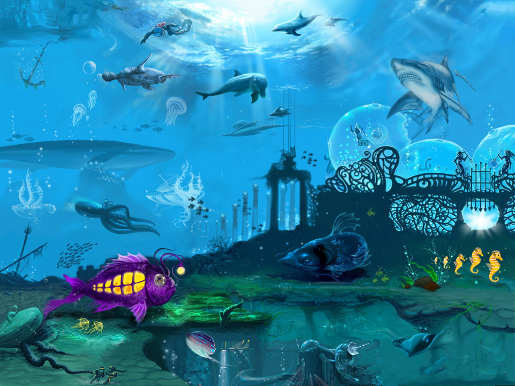 Under the sea wallpaper download under the sea wallpaper hd widescreen