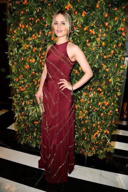 Actress, Singer @ Dianna Agron - Tory Burch Paris Flagship store opening