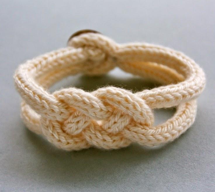 pulsera de tricot