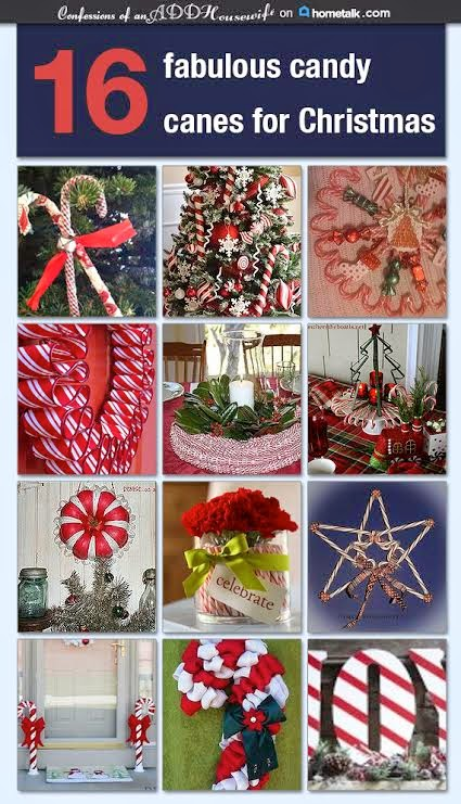 16 Candy Cane Decorating ideas