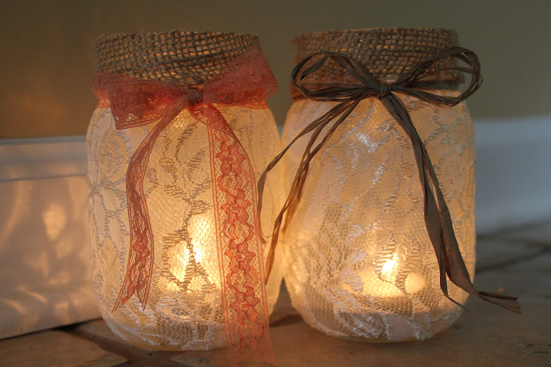 DIY Mason Jar Luminaries Adventures Of A Middle Sister