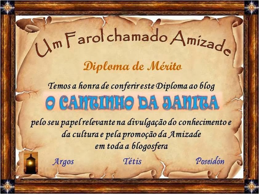 """Oferta do blog """"Um Farol Chamado Amizade"""""""