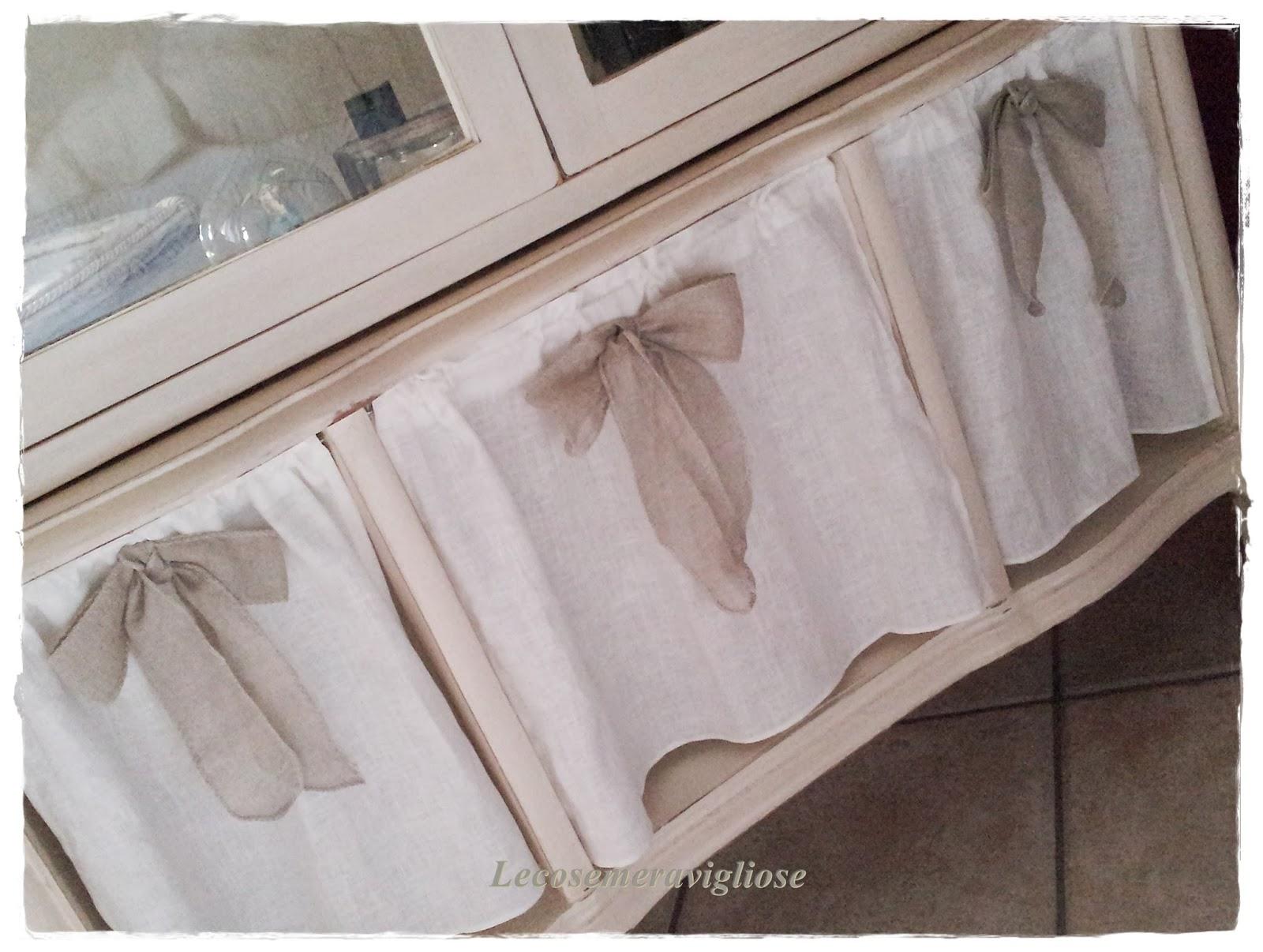 Tende A Fiori Per Camera Da Letto : Tende shabby idee per camera da letto salone o cucina