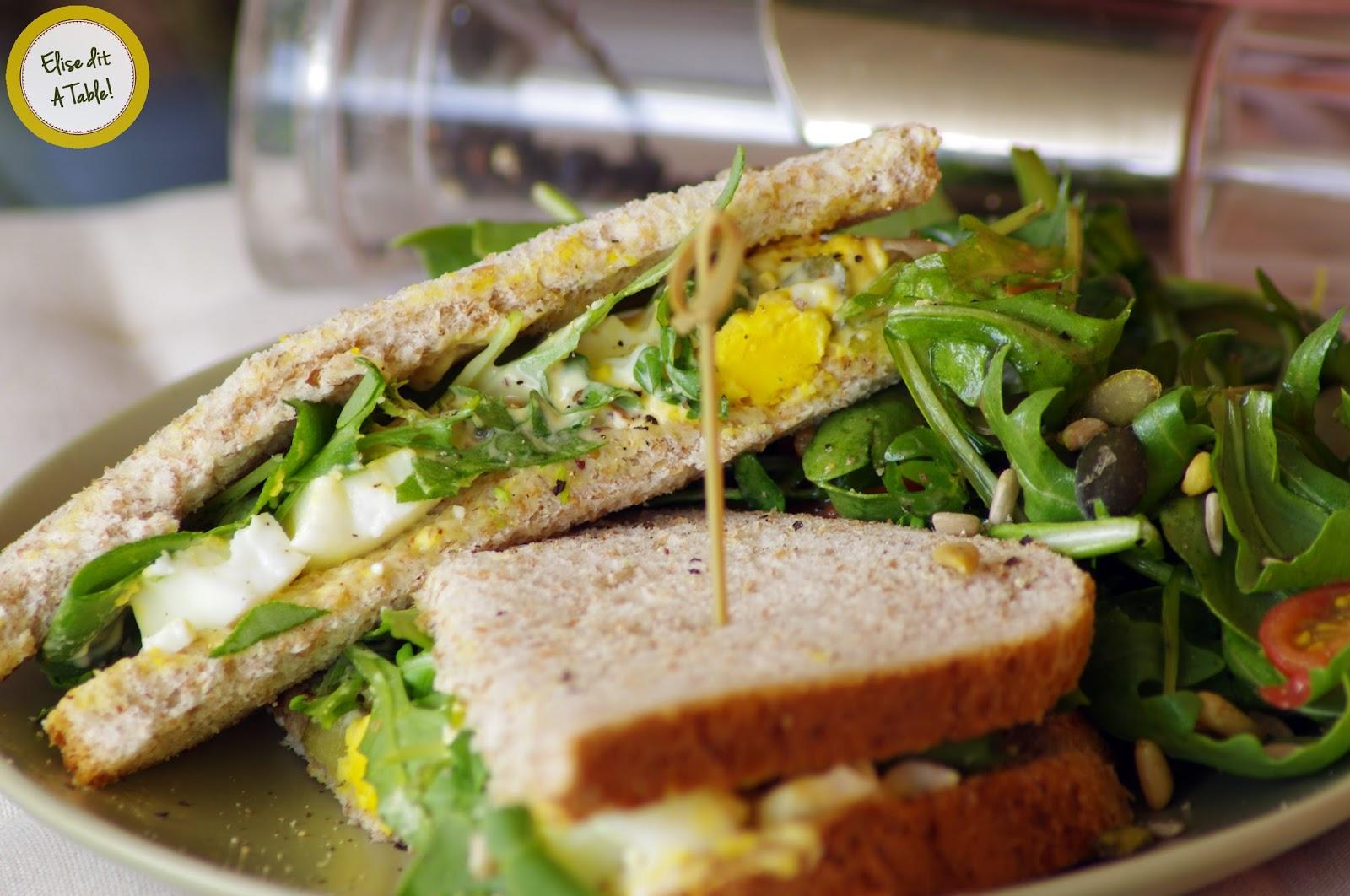 Recette sandwich aux oeufs durs blog cuisine - Recette avec oeuf dur ...