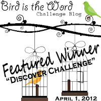 Featured winner at Bird is the word ! :)