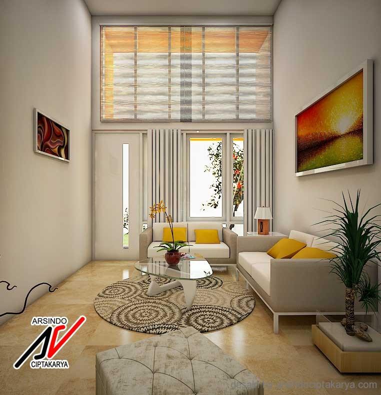 Interior ruang tamu minimalis sederhana for Interior design minimalis