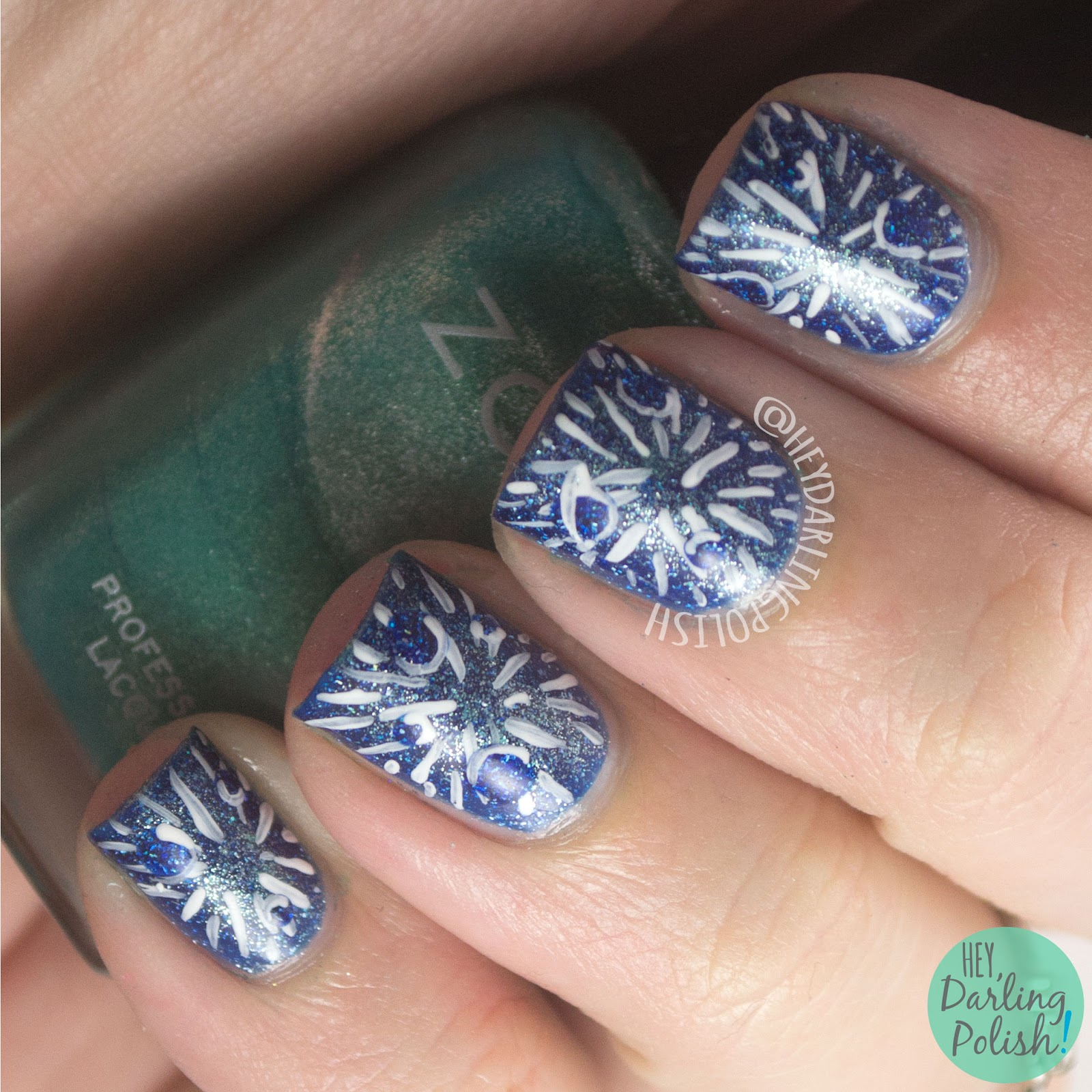 nails, nail art, nail polish, blue, hey darling polish, galaxy, constellations, poster,