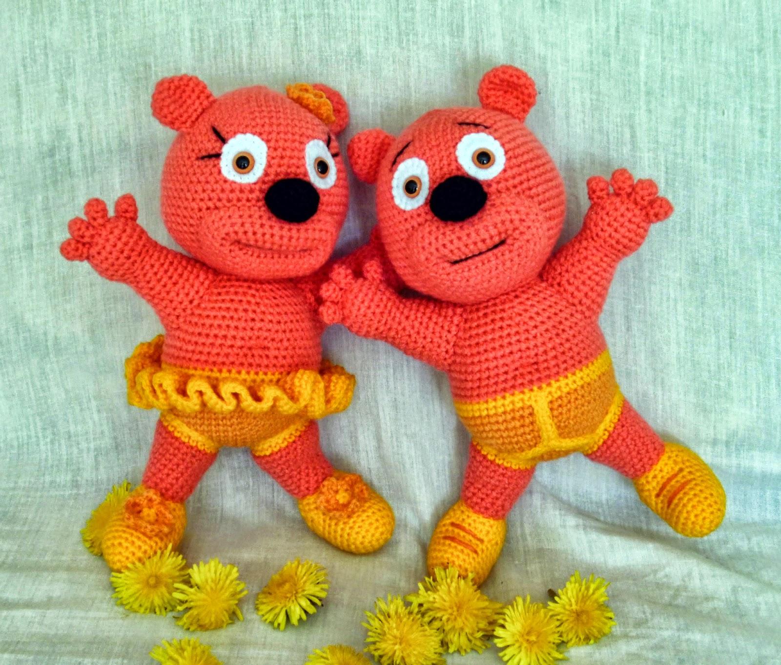 Amigurumi Gummy Bear : Amigurumi kevadised Kummikommikarud.Spring Gummy Bears ...
