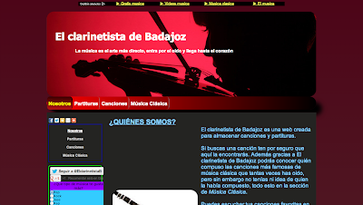 Si buscas una canción ten por seguro que aquí la encontrarás. Además gracias a El clarinetista de Badajoz podrás conocer quién compuso las canciones más famosas de música clásica que tantas veces has oído.
