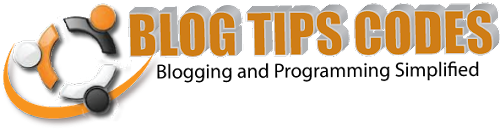 BLOG TIPS CODES