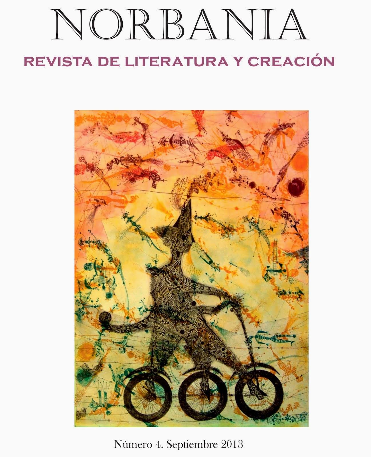 NORBANIA, Revista de Literatura y Creación número 4