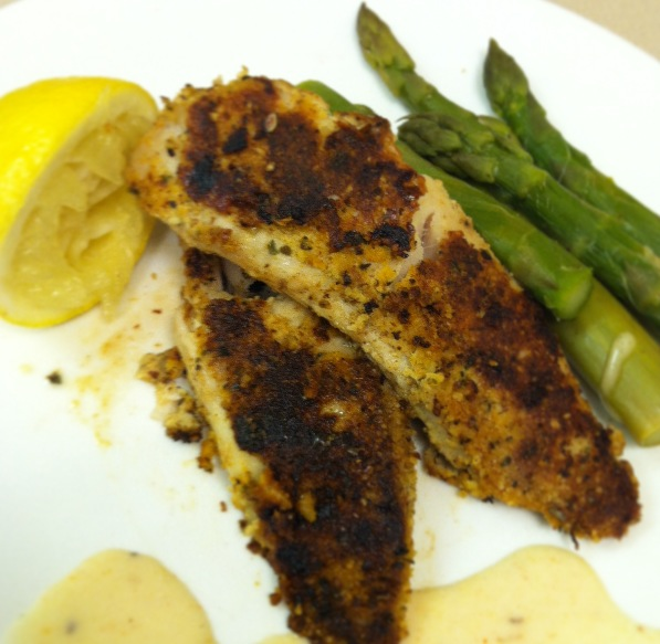 Almond crusted lemon tilapia foodie enthusiast for Is tilapia a fake fish