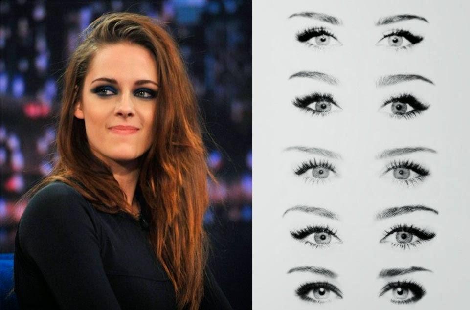 maquillaje para ojos redondos y grandes