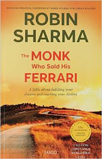 Robin Sharma, Book, Review, The Monk who sold his Ferrari