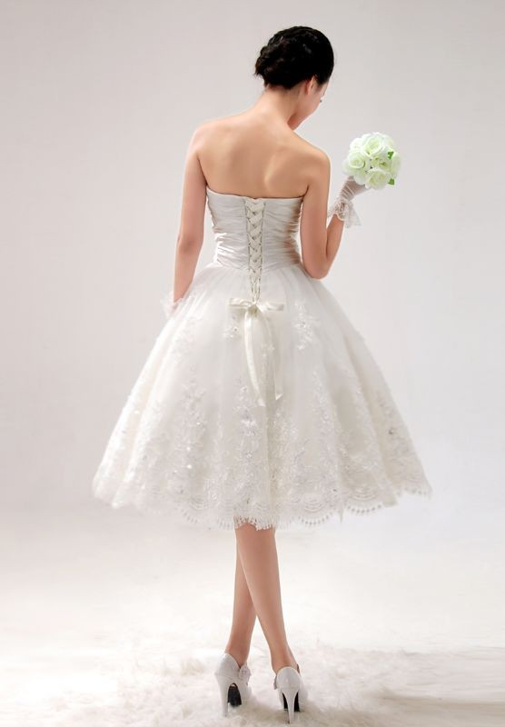 Short wedding dresses 2013
