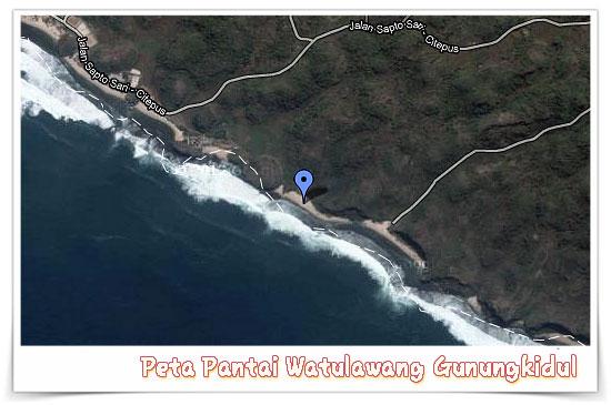 peta pantai watulawang