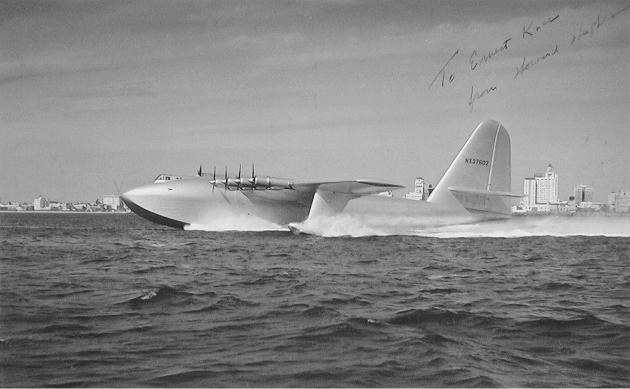 WORLD's LARGEST FLYING BOAT HUGHES H-4 HERCULES