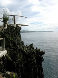 Cliff Diving Spot at Ariel's Point Boracay