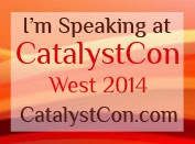 Join me at CatalystCon
