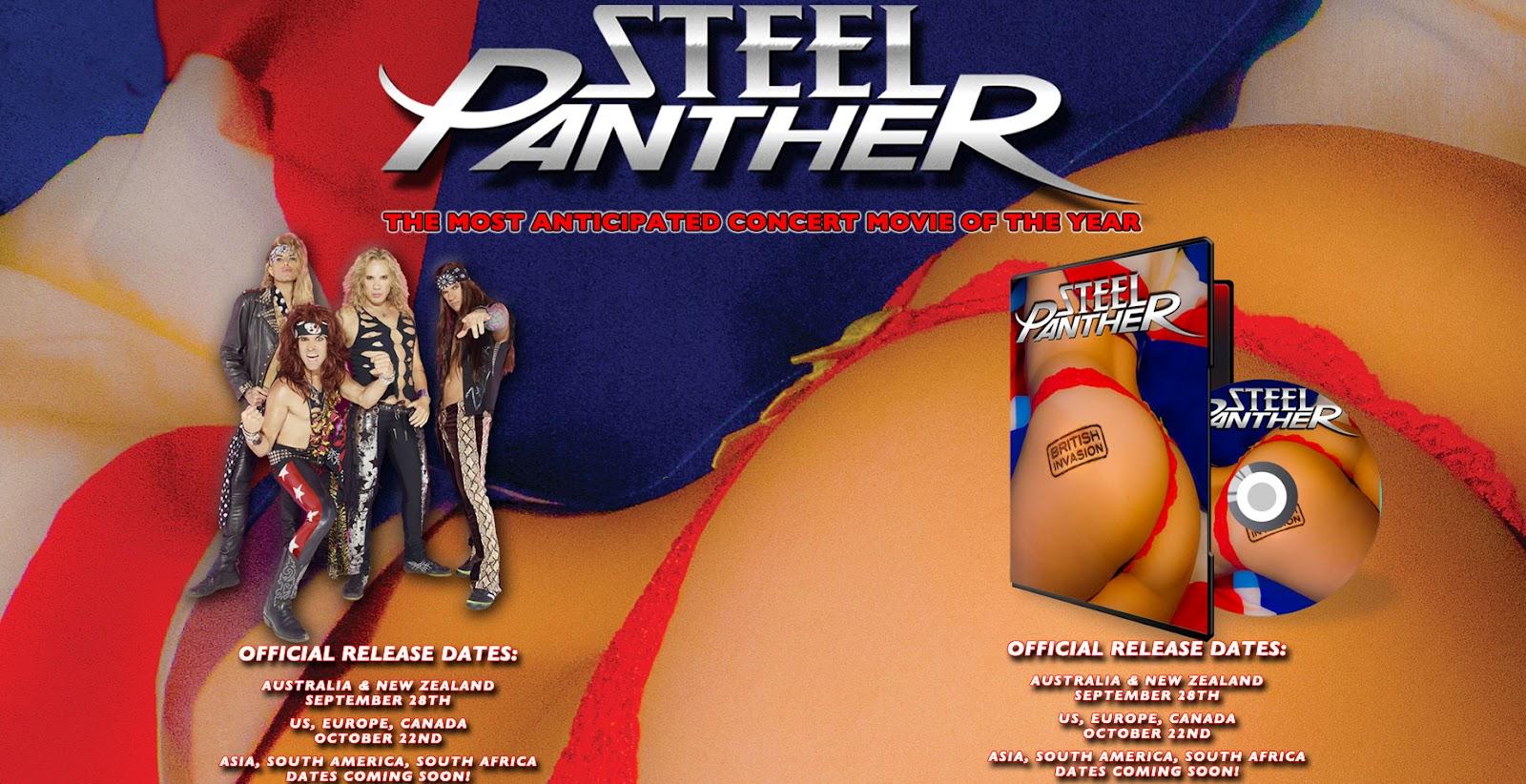 STEEL PANTHER - The British Invasion SteelPanthersplash4