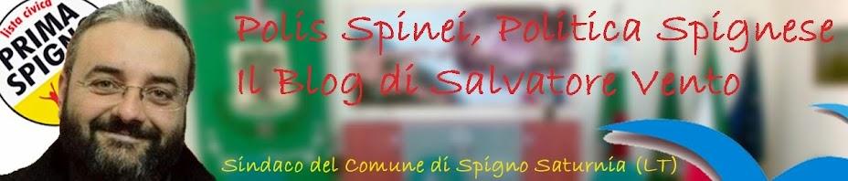 Polis Spinei, il Blog di Salvatore Vento