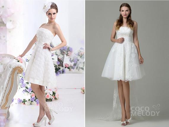 Ivory Beach Dresses For Weddings