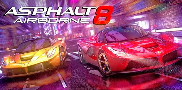 Asphalt 8 Airborne Paid Mod v1.2.1b Unlimited Money Download Apk