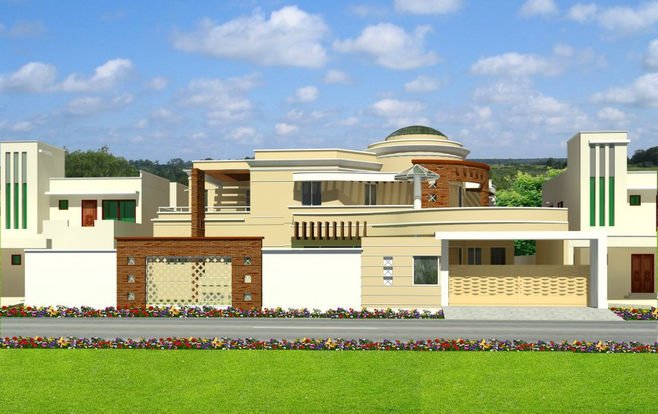 Front Elevation.com: 75' X 125' , 2 KANAL HOUSE PLAN LAYOUT + 3D FRONT ...