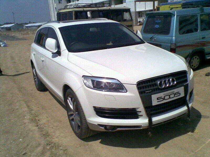 Stars And Cars Suryas Car AUDI Q - Audi car number