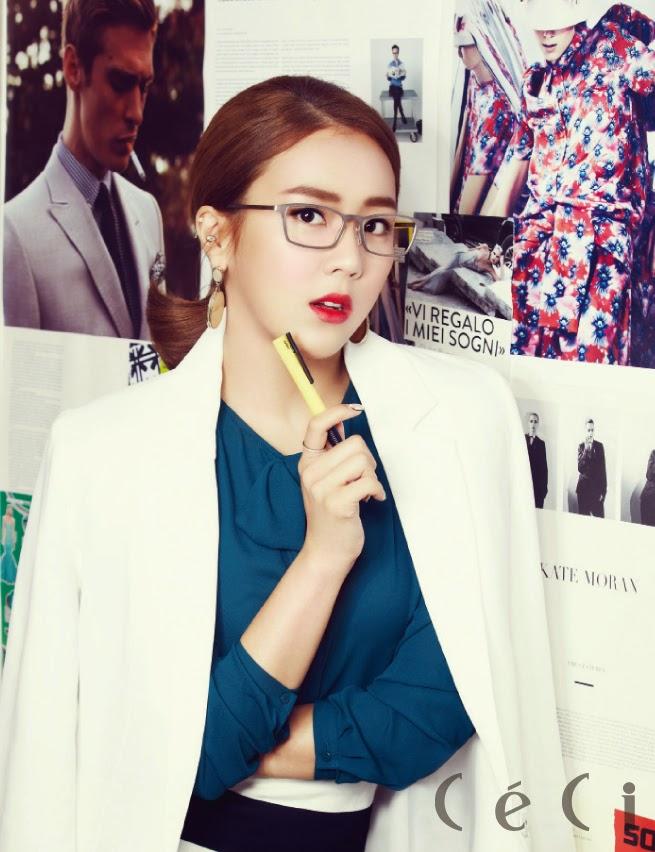 Yewon Jewelry - Ceci Magazine November Issue 2014