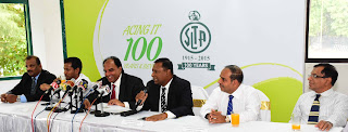 PG Gamage (VP), Sohan Patrick (VP), Iqbal Bin Issack (President), Suresh Subramaniam (VP), Pradeep Goonasekera (General Secretary), Ravindranath Perera (VP)