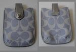 AUTH. COACH I PHONE CASING - DENIM