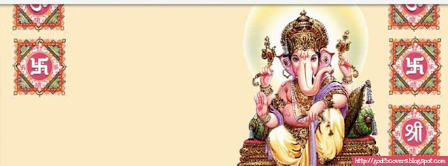 Lord Ganesha Facebook Cover Photo