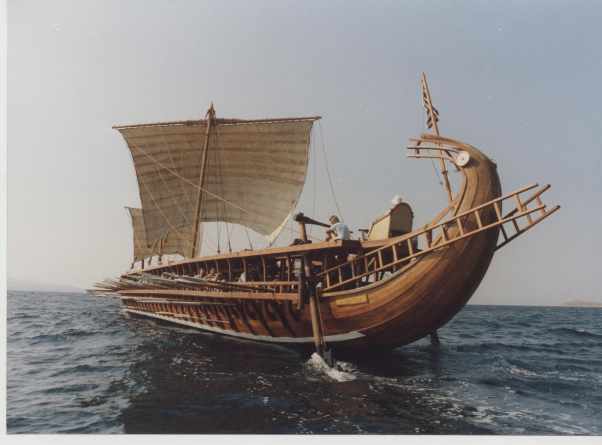 лодка александра македонского