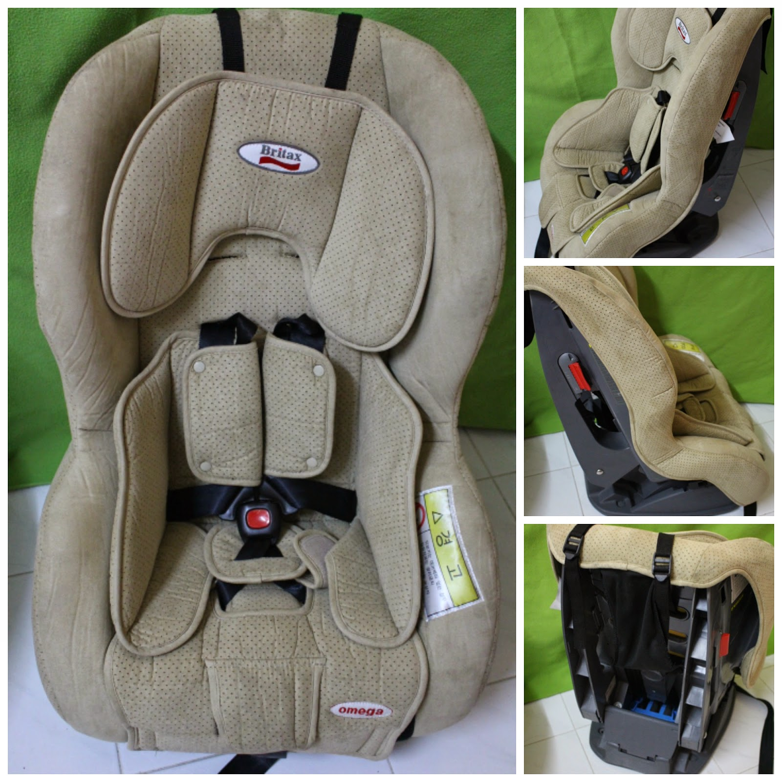 Amy Sweety Store Britax Omega Almond Convertible Car Seat