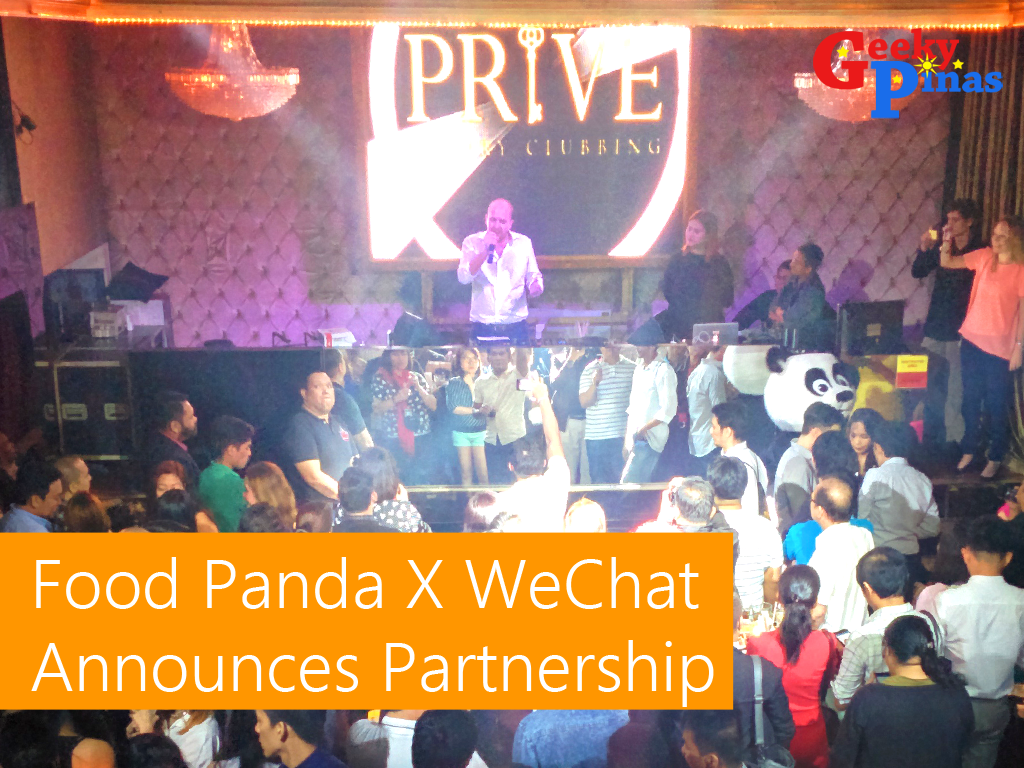 Food Panda x WeChat Announced Partnership In The Philippines And Across SouthEast Asia