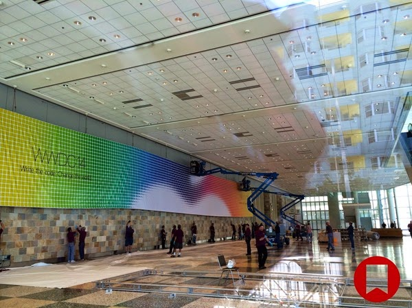 Inside Images of WWDC 2014 Moscone Center, San Francisco, USA
