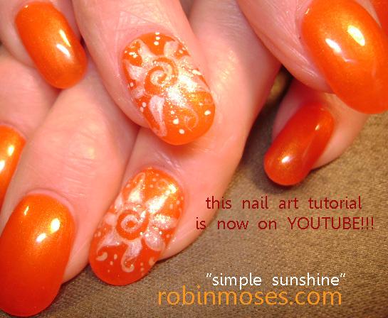 robin moses nail art rainbow summer