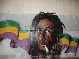 Bob Marley Graffiti - Sant Carles de La Rápita